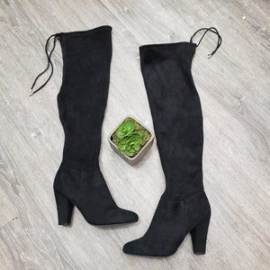 Call It Spring Over The Knee Boots Ultrasuede 7.5